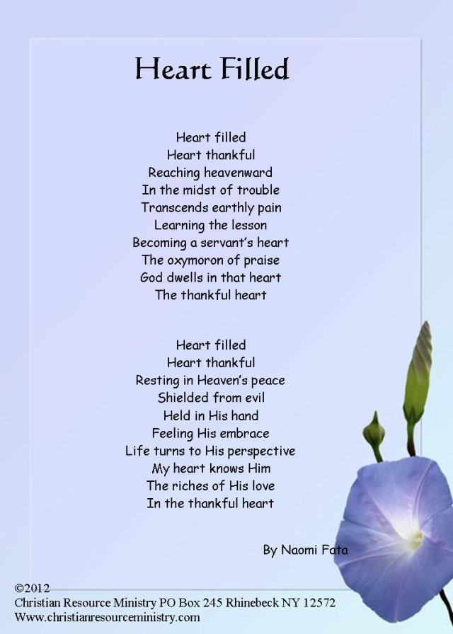 Heart Filled 5x7