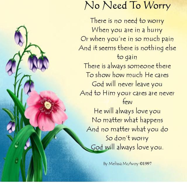 No Need to worry pic