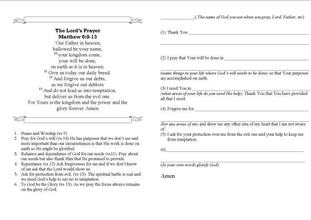 lesson 9 prayer closet