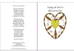 image of free printable card to know God's love