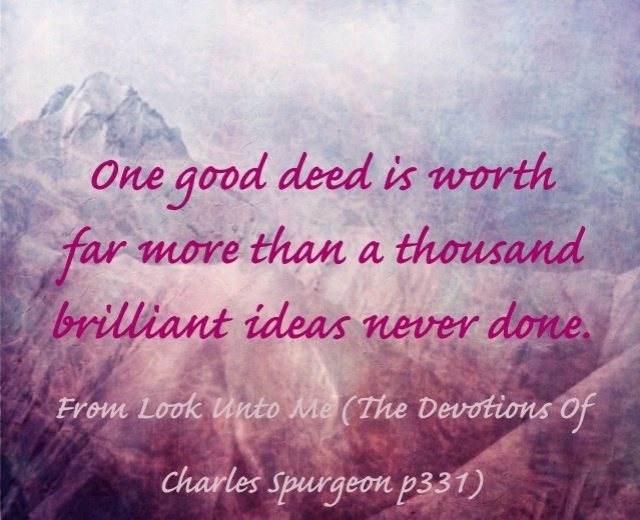 Quote from Charles spurgeon