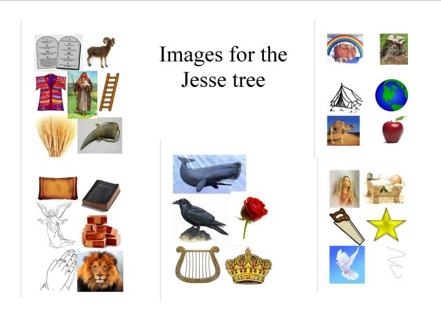images for jesse tree